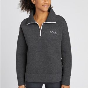 SoulCycle Pullover Jacket Sweatshirt Sz Small